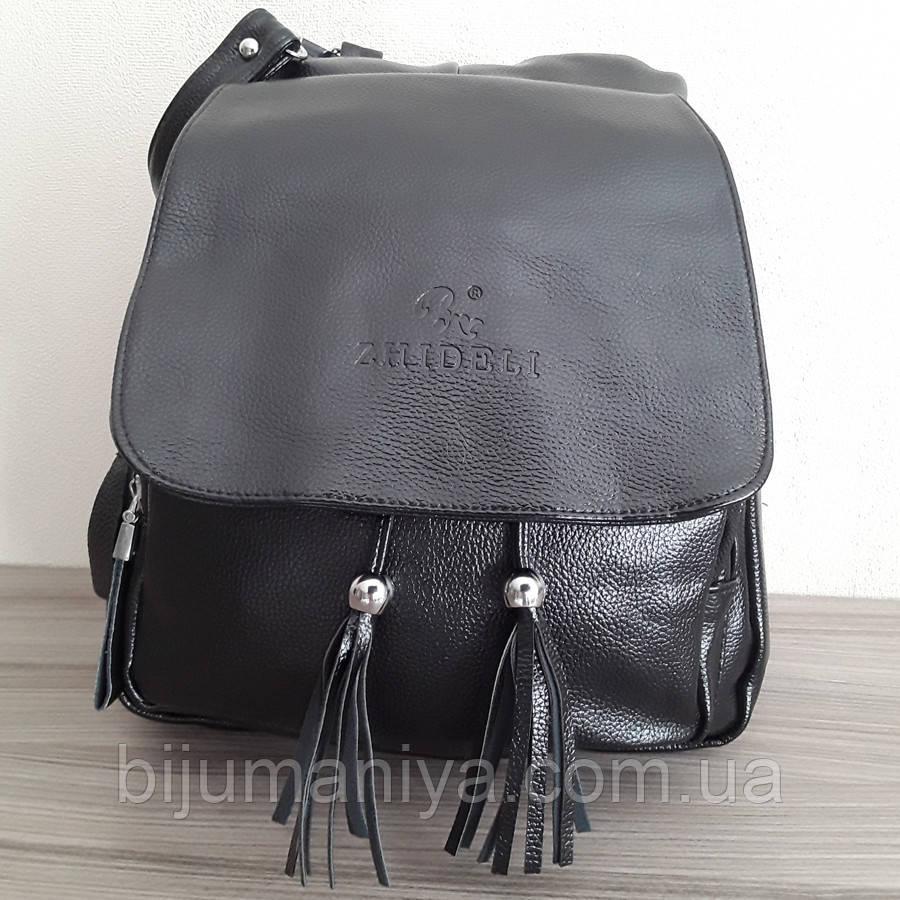 1ad607c0d823 Рюкзак - сумка женский черный 8209: продажа, цена в Киеве ..