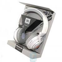 Bluetooth наушники с микрофоном MP3 FM JBL S400BT белые