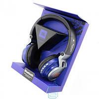 Bluetooth наушники с микрофоном MP3 FM JBL S400BT синие