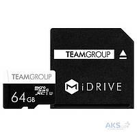 Карта памяти Team 64GB microSDXC (TUSDX64GU339)
