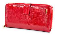 Оригинал! Стильный женский  лакированный кошелек-клатч Helen Verde (Хелен Верде) 2605