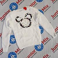 Теплые ангоровые  детские кофты для девочек оптом ИТАЛИЯ, фото 1