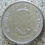 """Канада, 25 центов 2012 """"Война 1812. Брок""""(красный кленовый лист) UNC, фото 2"""
