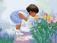 Картины по номерам 40*50 - Будущий флорист