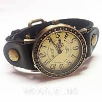 Женские винтажные часы Roma черные, фото 1