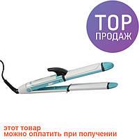 Утюжок выпрямитель плойка для укладки волос гофре 3 в 1 Gemei GM 2921 / для укладки волос