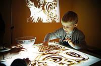 Натуральный песок для песочной анимации и декора
