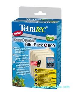 Набор картриджей с углем Tetratec EasyCrystal Filter Pack С 600 - Зоо-Опт, интернет зоомагазин в Харькове