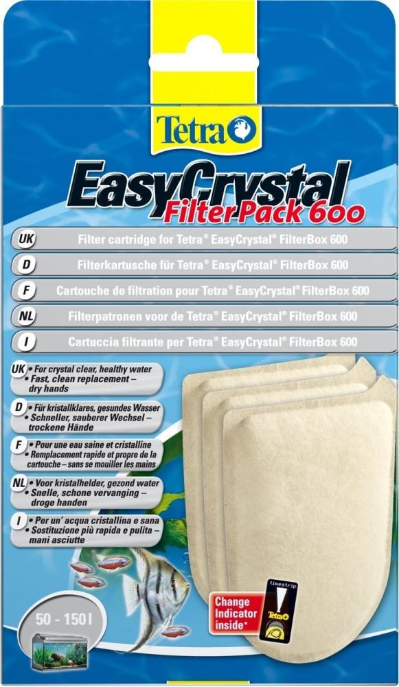 Набор картриджей Tetratec EasyCrystal Filter Pack 600 - Зоо-Опт, интернет зоомагазин в Харькове