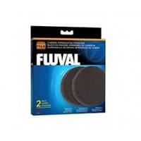 Вкладыш в фильтр Hagen Fluval FX5/6 угольная губка, 2шт