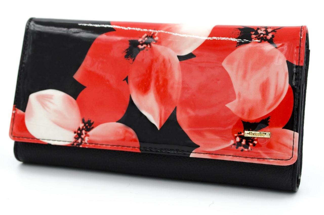 Оригинал! Стильный женский кошелек с цветочным принтом Helen Verde (Хелен Верде) 51487