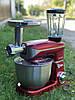 Бытовой кухонный комбайн (тестомес, мясорубка, миксер, блендер) Royalty Line 1800 Вт