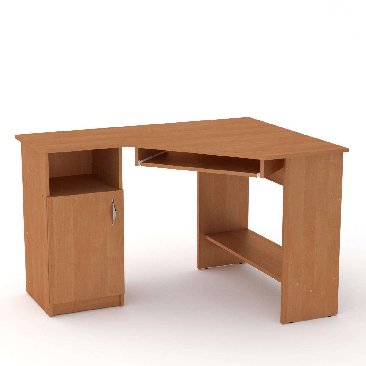 Стол письменный СУ-14 ольха Компанит (120х90х75 см)