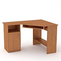 Стол письменный СУ-14 ольха Компанит (120х90х75 см), фото 1