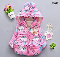 Демисезонная куртка Hello Kitty для девочки. 1-2 года