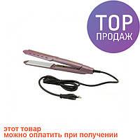 Утюжок выпрямитель плойка для укладки волос гофре 4 в 1 Gemei GM 2962 / для укладки волос