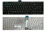 Клавиатура для ноутбука Asus X502 X502C X502CA S500 S500C S500CA, черная без рамки, Прямой Enter, с креплением