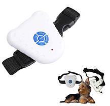 Ультразвуковой ошейник для собак антилай Bark Control Dog Collar, фото 2