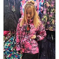 Лыжная женская куртка теплая высшего качества, зима 2018
