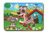 Деревянный вкладыш «Мама и детеныш», собаки-2