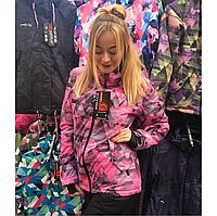Лыжная женская куртка теплая высшего качества, горнолыжная одежда