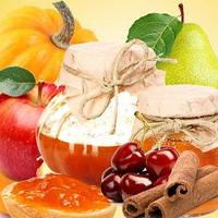 Косметические отдушки для мыла, свечей, косметики ручной работы  Апельсин, тыква, яблоко