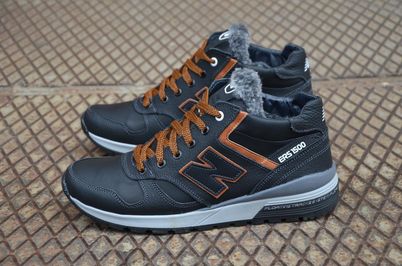 bf306660 Мужские кожаные зимние кроссовки New balance (Реплика) - Интернет - Магазин  мужской обуви My