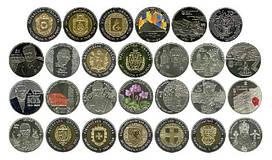 Полный набор монет НБУ 2014 года - 27  монет