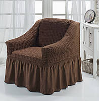 Чехол на кресло шоколадный Турция