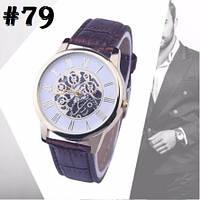 Мужские часы c ремешком черного цвета (79)