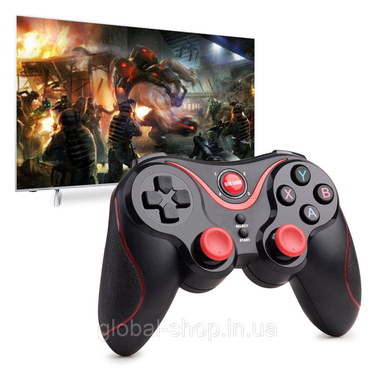 Игровой джойстик Bluetooth для смартфона, планшета, компьютера Gen Game S5, встроенный аккумулятор