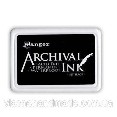Чорнило перманентне Ranger - Archival Ink Pad - Jet Black