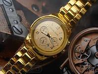 Женские часы Michael Kors Функция Даты цвет золотой, фото 1