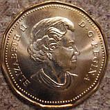 """Канада, 1 доллар 2006 """"Доллар на удачу на Олимпиаде в Турине"""" UNC, фото 2"""