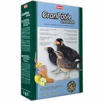 Основной мягкий корм для насекомоядных и плодоядных птиц GranPatee universelle