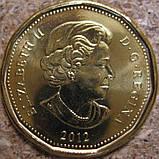 """Канада, 1 доллар 2012 """"Столетие Кубка Грея"""" UNC, фото 2"""