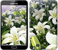 "Чехол на Samsung Galaxy Note i9220 Белые лилии ""2686u-316-6129"""