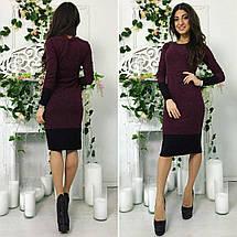 Прямое платье с кружевом ниже колена «Aimee», фото 2