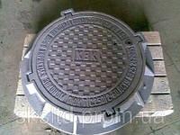Люк тяжелый Т  (C250) с з/у и мех.обр. Н175  комплект