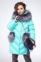 Теплая зимняя детская куртка Банни