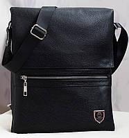 Большая кожаная сумка Philipp Plein 33*27см