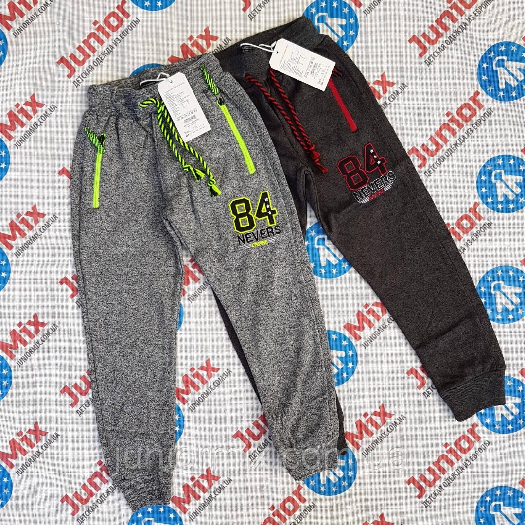 Подростковые теплые спортивные штаны для мальчиков оптом GRACE