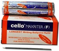 Стержень сменный для шариковой ручки CELLO MAXRITER чёрный (10шт)