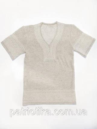 Женская вязаная вышивка на лето   Жіноча в'язана вишиванка на літо, фото 2