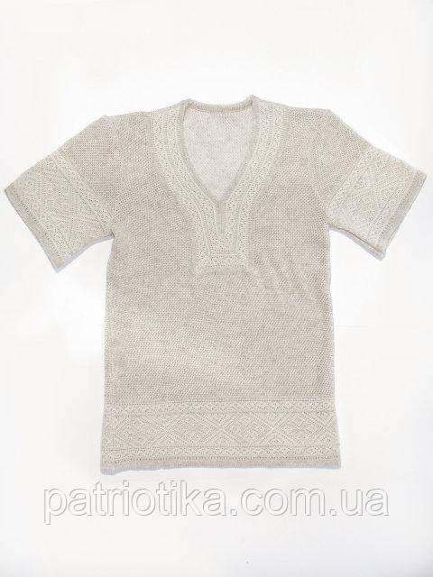 Женская вязаная вышивка на лето   Жіноча в'язана вишиванка на літо