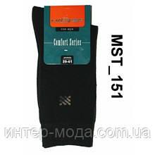 Носки мужские однотонные  Арт.№151 размер 39-41 Черный