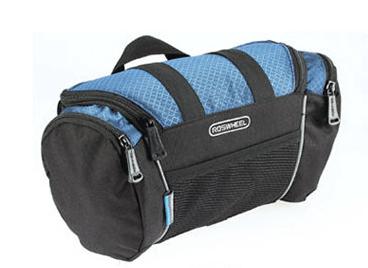 Велосипедная сумка Roswheel черно-синяя