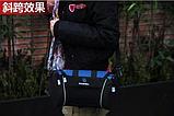 Велосипедна сумка на кермо чорно-синя, фото 4