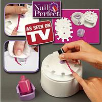 Набор для создания маникюра устройство для окраски ногтей Nail Perfect Наил Перфект