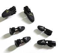 Зипперы и слайдеры, сумочный бегунок прорезиненный оптом., фото 1